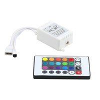 Low price RGB 16 Colors Remote Control Box DC 12V for LED Light Strip new arrival
