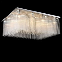 New design LED ceiling light luxury crystal lamp modern ceiling lighting LED luminaire plafonnier for living room