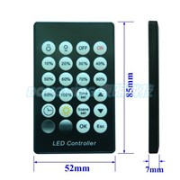Intelligent Light Sensor Time Controlled Controller led controller 144W DC12V 24key 24hour time controller for led strip