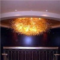 Modern Hanging Lamp Villa Murano Glass Chandelier