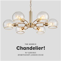black gold chandelier lighting led modern for dining room E14 AC 90-260V chandeliers lighting for living room