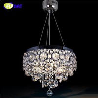 FUMAT LED Crystal Chandeliers Lighting K9 Crystal Lamps Dinging Room Lights Lustre Lumniare Restaurant Living Room LED Chandlier