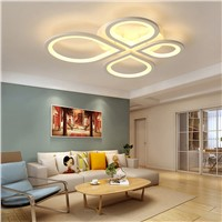 New Arrival White LED Ceiling Chandelier For Living Study Room Bedroom  Modern Led Ceiling Chandelier