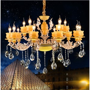 Art deco crystal chandelier lights Luxury crystal light chandelier for Living room Traditional Large chandeliers with LED bubls