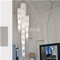 Modern Luxury LED Lead Crystal Chandelier Lighting Large Hanging Lights Cristal Lamps for Villa Dining Room and Hotel Decoration