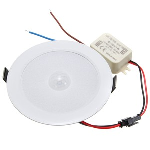 5W E27 PIR Motion Sensor LED Downlight Wall Path Lamp Ceiling Step Light 5730 SMD 10 Lighting AC85-265V