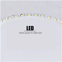 High brightness LED Downlight with adapter AC85-265V indoor Light recessed ceiling Flat LED lamp fixtures