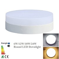 Super bright 24W LED Panel Light Down Light with driver 85-265V Warm White/Cold White Surface Mounted LED Ceiling Light