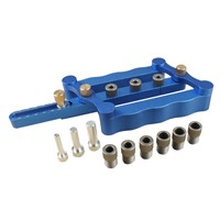 Self Centering Dowel Jig for corner edge surface joints Drilling Guide Dowel Tool Clamp Tool Wood Jig for precise drilling