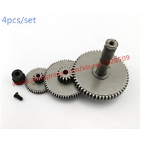 4 pcs/lot  Alloy Steel Reduction Gears Modulus Gear DIY Micro Motor Transmission Parts Gear Box Mating Parts