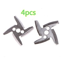 4pcs meat grinder knife parts for meat grinders 420 stainless steel knives meat grinder parts Throwing nikves