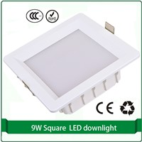 9W Square LED Down lighting led downlight rectangular downlight led