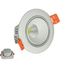 2pcs/lot Super Led COB Down Lights 10W 15W  Dimmable Cob Led downlight +Led Driver AC86-240V  Focus Lighting For Living Room CE