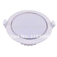 5w/7w/10w/12w/18w LED Recessed Ceiling Panel Down Lights Bulb Round and Square downlights