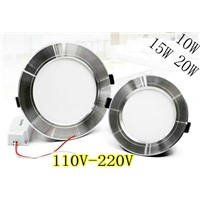 4PCS/lot LED Downlight Ceiling lamp LED Panel Lights 5730SMD 10W 15W 20W Warm white/cold white LED Spotlights