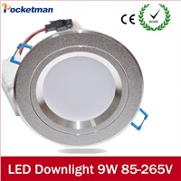 9W LED Downlight Recessed Light Light 5730SMD 220V 230V 240V LED Ceiling Recessed Light Round Led Panel Light Lamps