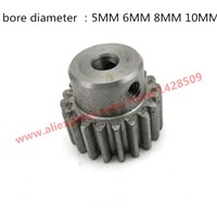 M1 modulus gear alloy steel  reduction gears modulus gear DIY Micro Motor Transmission Parts Gear Box Mating Parts