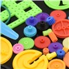 55pcs Colorful Mixed Plastic Gear Motor Gear Gearbox Robot Ship Car Aircraft RC Plane DIY Model Craft Experiment Repair Tool