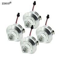 ZINUO 10pcs/lot 1W 3W Mini Led downlight Cabinet Lamps Led Recessed Cabinet Spot light  White,Warm white AC85-265V