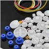 80pcs Mixed Plastic Gear Motor Toy Gearbox Robot Car Ship Aircraft RC Craft DIY Repair Science Technology Model Accessories