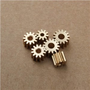 Professional Toy Gears122.3A Copper Gears 0.5M 12 Tooth 2.3mm Shaft Hole for 390 Motor Spindle Axis Gear