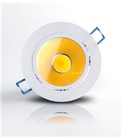 Super Bright Dimmable Led Down light COB Ceiling Spot Light 10w ceiling recessed Lights Warm White Indoor Lighting 10pcs/lot