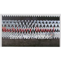 2 mod rack cnc gear rack Mod 2 steel gear rack 20 x 20x1000mm  Length in 1000mm 45# Steel