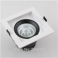 high ceiling 40w LED Recessed Square Downlight high power glare free lighting fixture cut-hole 170mm