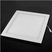 24W SMD 2835 LED Square Panel Light Surface Mounted Downlight Lighting Ceil Luminous Flux: 1848lm, Size: 30cm x 30cm(Baby Blue)
