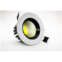 20PCS/lot  led downlight Ultar Bright COB 3W5W7W10W Recessed Led Dimmable Downlights 110V220V230V Warm/White + Power Drivers