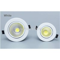 Cob Spot Led Donwlight 5W 550LM 85-265V led spot light Recessed indoor lighting 3000K 4000K 6000K