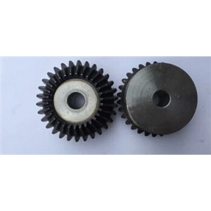 2 moudle Metal bevel gear tooth surface quenching of 90 degrees one pair 2pieces 1:1 transmission 2M30