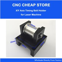 Belt Tension Pully Timing Gear Without tooth Idle Pulley synchronous Round Power Transmiss DIY Laser Engraver Cutter CNC Printer