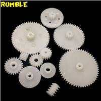 2017 High Quanlity ABS Plastic Gear Kit Mixed Different Size Gears For DIY Toy Robot Motor Model Gearbox Accessories For Motor