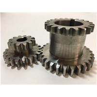 Freeshipping 2 pcs / set Teeth T29xT21 T20xT12 Dual Dears Metal Lathe Gears For Sale