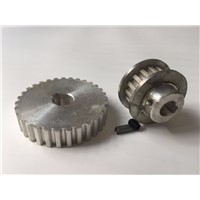 Freeshipping 2pcs/set Miniature household lathe fittings Metal synchronous gear S/N:CJ0618-148 S/N:CJ0618-027