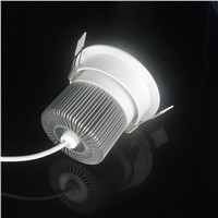 New Ceiling Recessed LED Spot Light AC110V 220V 15W/12W/9W/7W/5W LED Downlight For Bathroom Shower room Sauna