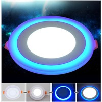 New Design Round LED Panel Downlight 6W 9W 18W 24W  3 Model LED Panel Lights AC85-265V Recessed Ceiling Painel Lights