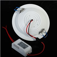 Recessed 7W/9W/12W/15W/18W/24W LED Ceiling Light Cool white/Warm white AC85-265V Panel Lamp
