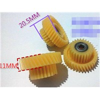Diameter:40mm Electric vehicle double level with bearing nylon gear-24T/36T