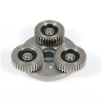 Electric vehicle brushless motor metal steel gear 36Teeths gear 608 bearing one-way clutch assembly