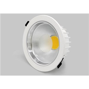 Free 10x 5w 7w  15w 20w 30w 40W  LED COB round downlight Dimmable Recessed LED Ceiling Lamp Spot Light White/warm led lamp cree