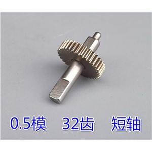 1pcs All-metal gears  0.5module /32 tooth gear  5mm Shaft diameter (motor dc 12v 6v 3v)