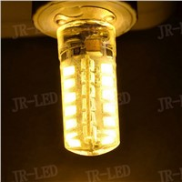 5PCS/lot New G4  48 SMD 2835 LED Light Bulb Lamp AC DC 12Vled Spotlight Silicone dimmable chandelier lamp CE ROHS