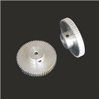 1.0m70T bosses 1 aluminum mold upright gear transmission parts DIY Cars