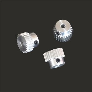 0.5m22T tooth boss 0.5 modulus plastic mold aluminum small gear feed Jimi top wire