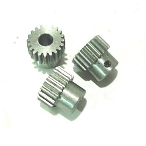 0.8m14 tooth T boss steel 0.8 mold metal precision micro-motor 6 model diy small module gear