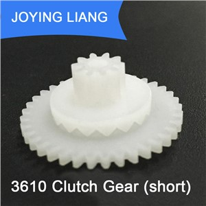 3610 Clutch Gear Short Style Modulus 0.5 POM Plastic Gear Clutch Toy Model Parts (100pcs 362A Gear + 100pcs 102B Gear)