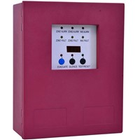 2 Zones Fire Alarm Control Panel with AC power input Fire Alarm Control System Conventional Fire  Control Panel