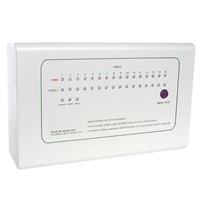 RP1016 Repeater Panel 16 zone   Repeat display panel  work with ck1000  Conventional Fire Alarm  Panel by RS485